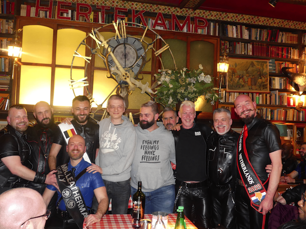 Daniel Dumont's Annual Rib Dinner in Antwerp, March 8, 2020